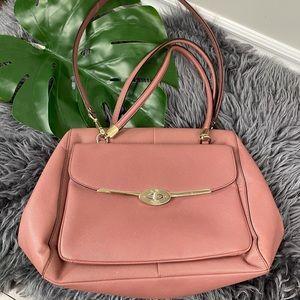 Coach mauve pink bag